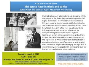 NASA and Racial History